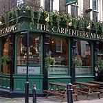 Carpenters Arms 12 Seymour Place Marylebone London
