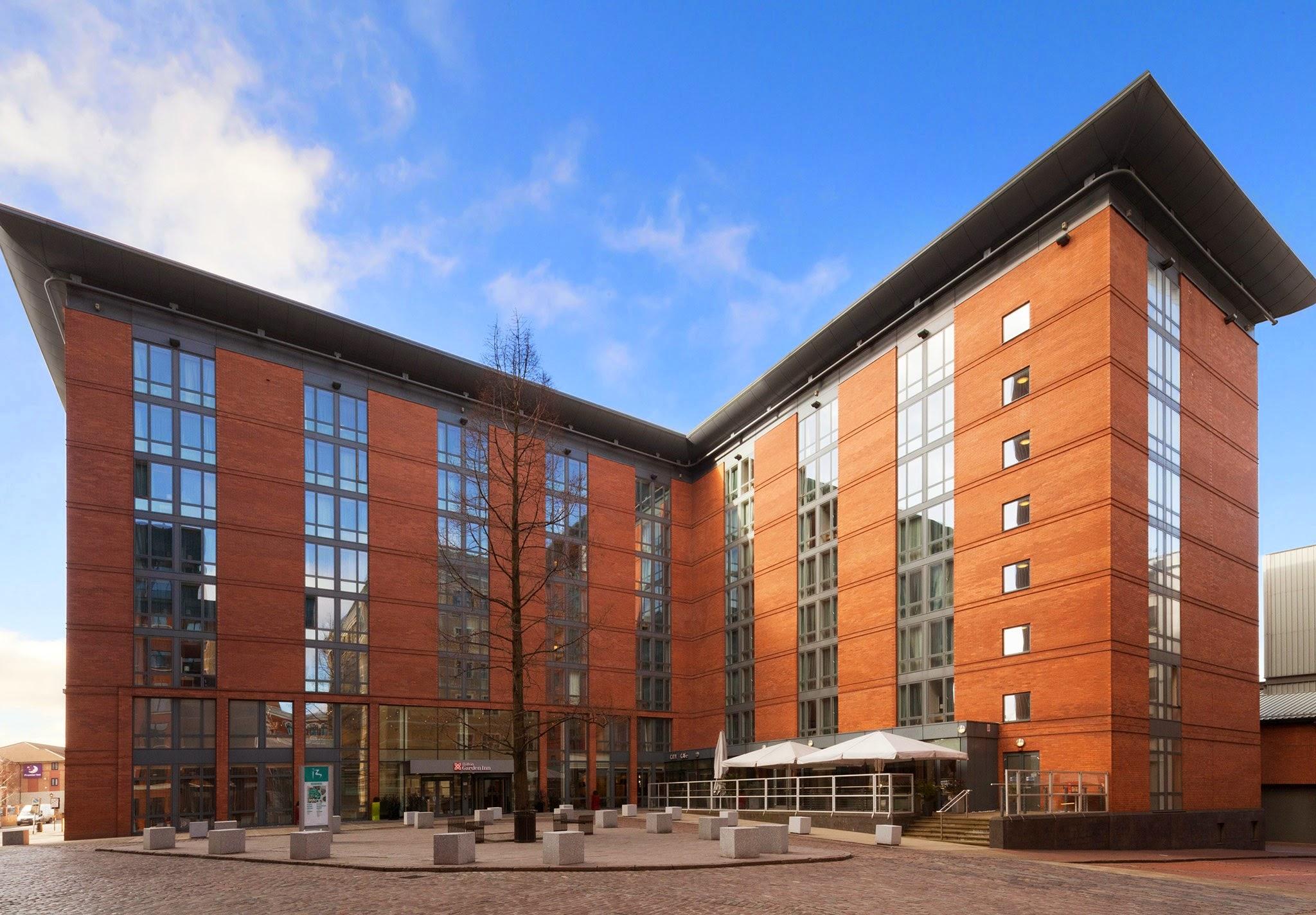 Hilton garden inn birmingham brindleyplace 1 brunswick for Birmingham garden inn