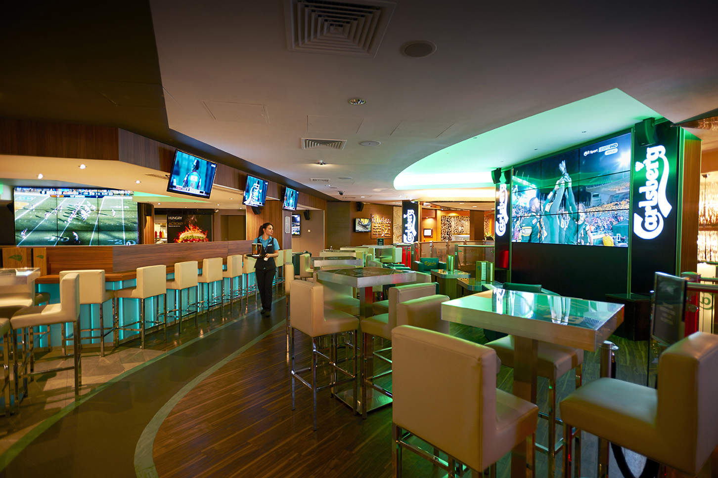 carlsberg sports bar london the casino at the empire